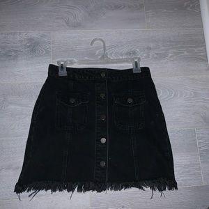 Forever 21 Skirts - Black Jean skirt